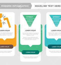 marketing funnel on white background in black business infographic template the concept is [ 1300 x 1041 Pixel ]