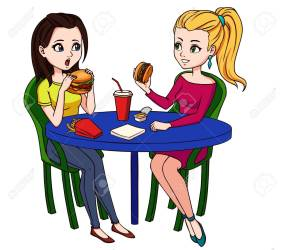 Inside Restaurant Background Cartoon