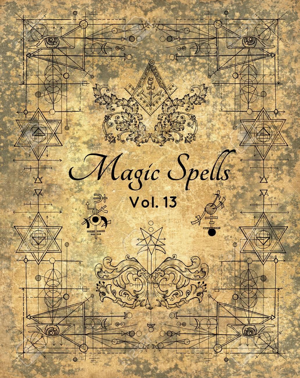 design cover of magic