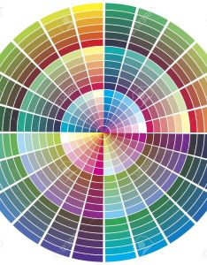 Color palette chart for prepress printing theory calibration business stock also rh rf