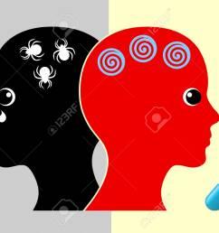 panic disorder medication woman taking pills to stop phobic panic attacks stock photo 93681775 [ 1300 x 924 Pixel ]