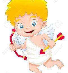illustration of cute cupid stock vector 15524932 [ 976 x 1300 Pixel ]