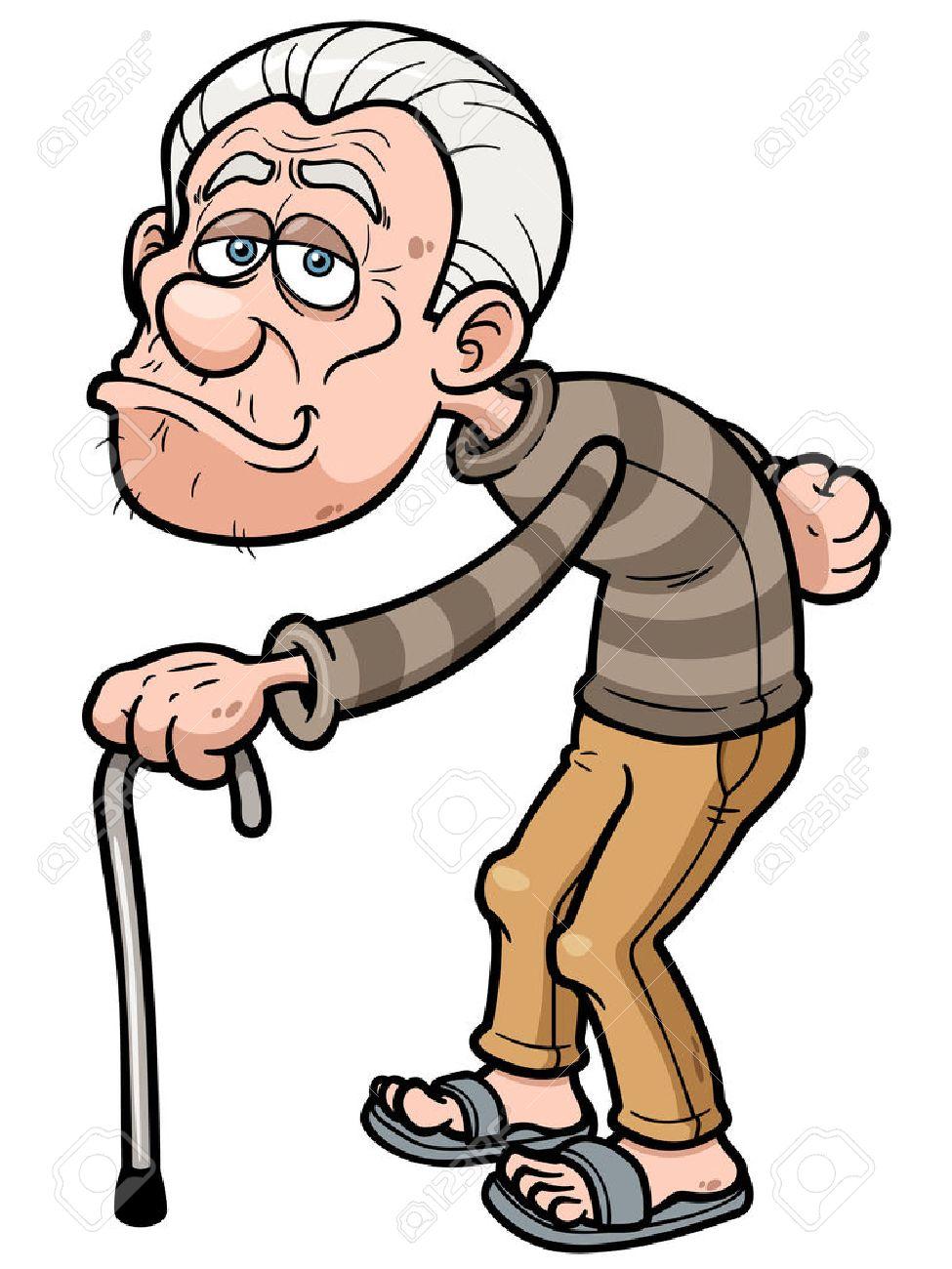 Old Man Cartoon : cartoon, Vector, Illustration, Cartoon, Royalty, Cliparts,, Vectors,, Stock, Illustration., Image, 27769982.
