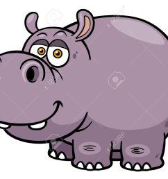 illustration of cartoon hippopotamus stock vector 28869785 [ 1300 x 1056 Pixel ]