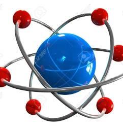 atom model stock photo 8445248 [ 1300 x 1088 Pixel ]