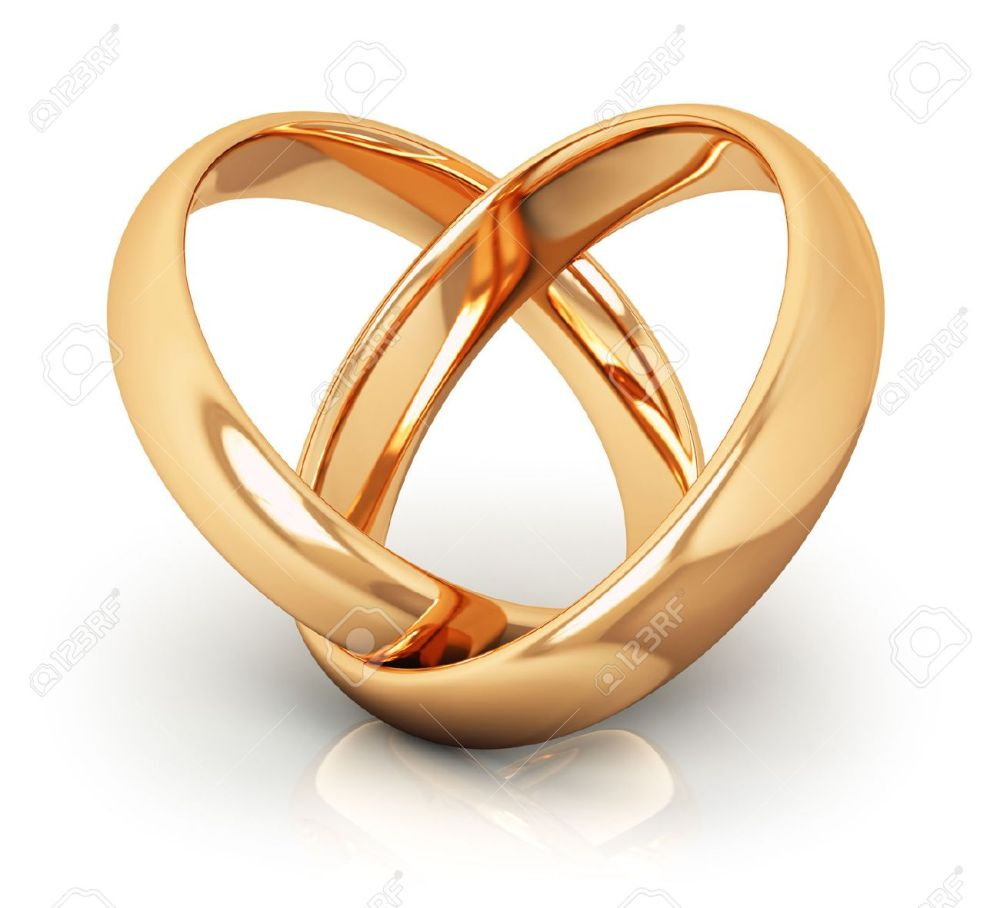 medium resolution of creative abstract love engagement proposal and matrimony concept macro view of pair of