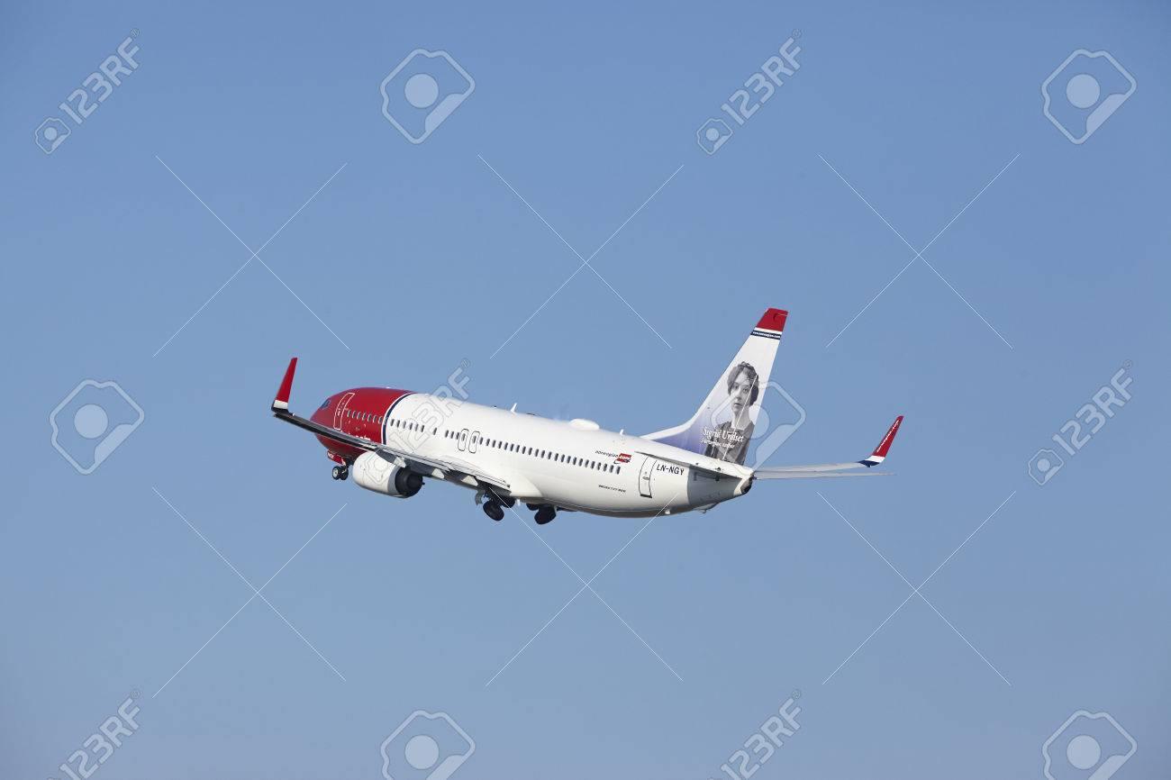 the norwegian airlines boeing