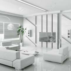 Pictures Of Modern White Living Rooms Nice Room Paint Colors Interior 3d Render Stock Photo Picture 18721866