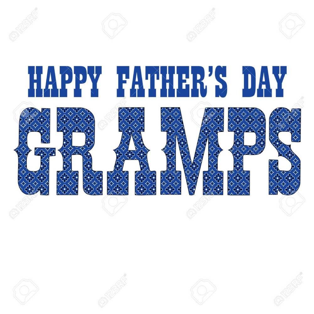 medium resolution of blue bandana gramps fathers day stock vector 78509444