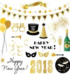 new years eve clipart stock vector 85349247 [ 1300 x 1300 Pixel ]