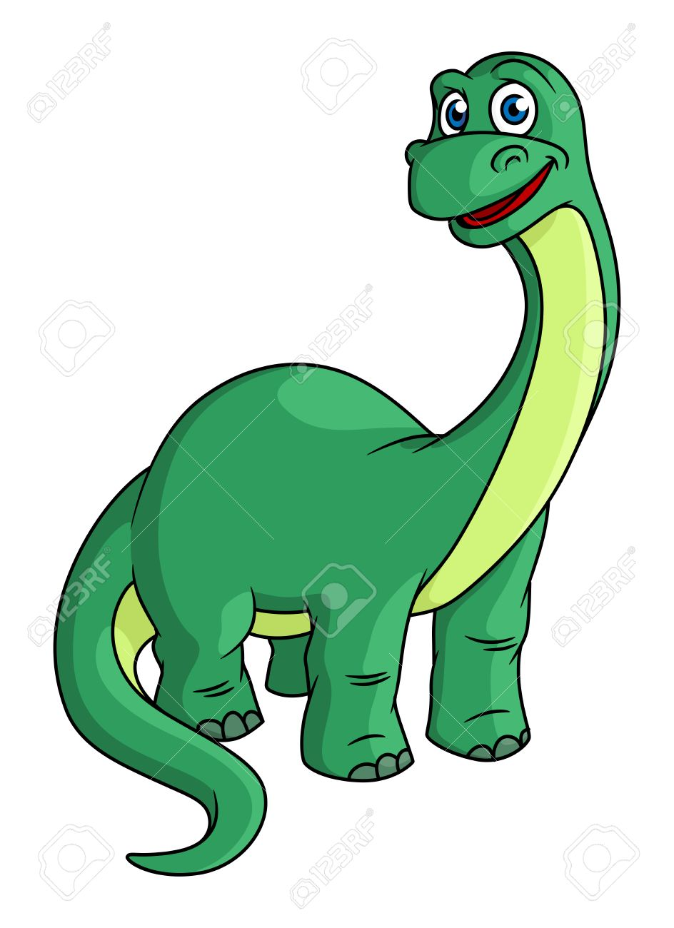 Cartoon Characters With Long Necks : cartoon, characters, necks, Adorable, Green, Cartoon, Dinosaur, Mascot, Tail,.., Royalty, Cliparts,, Vectors,, Stock, Illustration., Image, 26344213.
