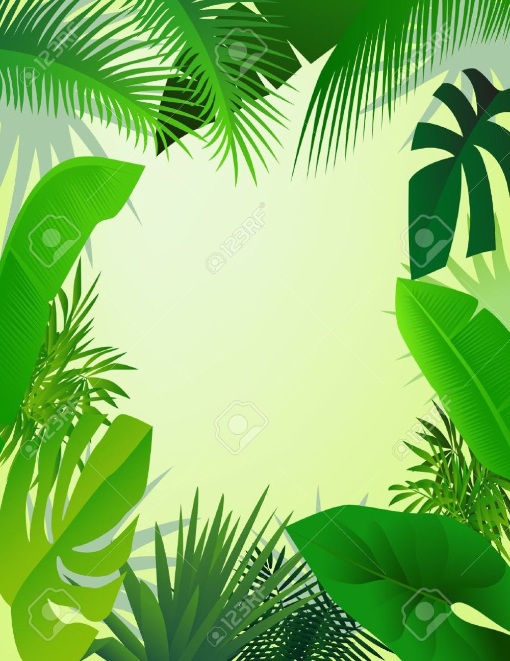 medium resolution of beautiful forest background stock vector 13408493