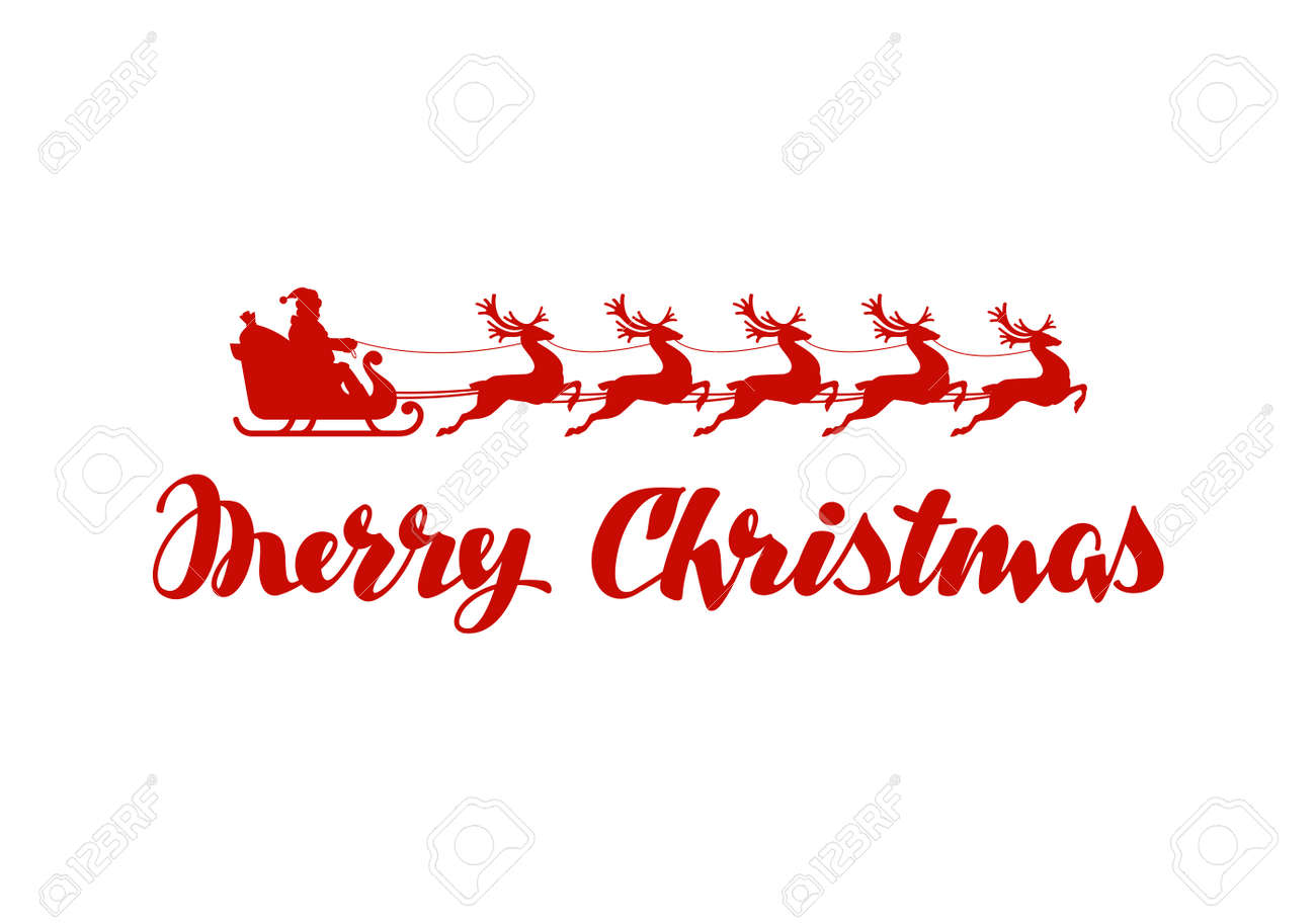 hight resolution of merry christmas banner vector illustration isolated on white background stock illustration 63811550