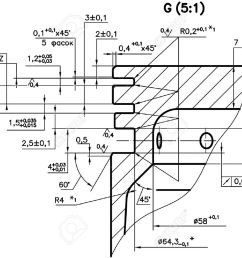 design drawings of nonexistent internal combustion engine piston clipping path stock photo  [ 1300 x 944 Pixel ]
