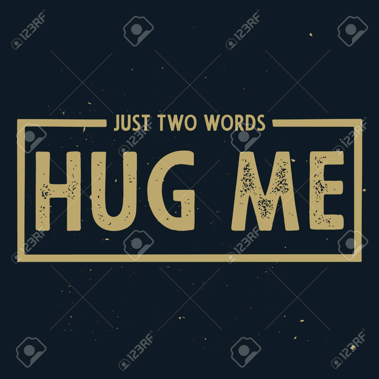 just two words hug