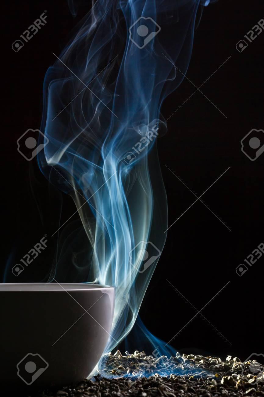 tea smoke and grain
