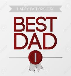 fathers day best dad vector illustration stock vector 58018447 [ 1300 x 1300 Pixel ]
