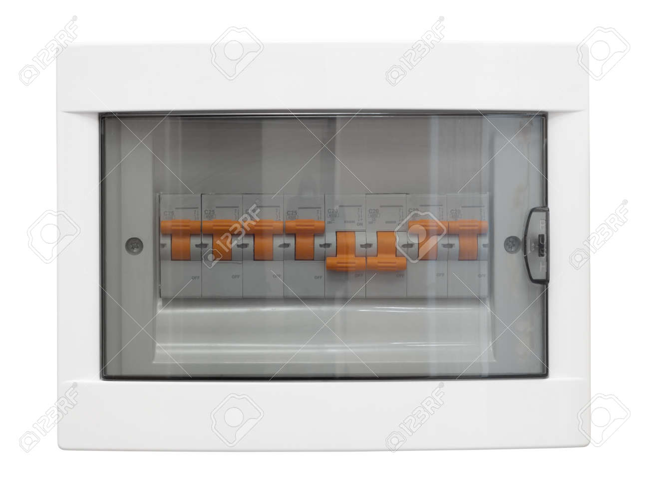 hight resolution of electricity distribution box closed fusebox isolated on whiteelectricity distribution box closed fusebox isolated on white background