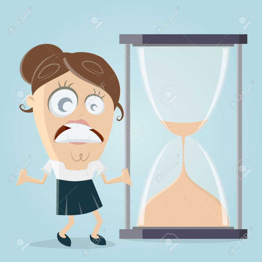medium resolution of time is running out hourglass clipart stock vector 84561798