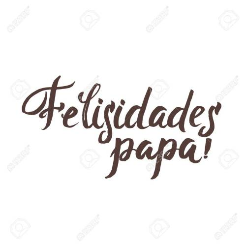 small resolution of happy fathers day spanish greting card ink inscription greeting card template for father day