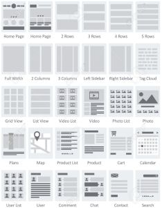 Vector website flowcharts and site maps ai also royalty free cliparts vectors rh rf