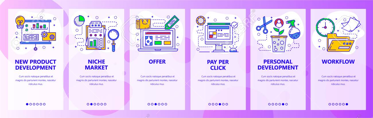 Developing a new product or service can be a complex process that take. Mobile App Onboarding Screens New Product Development Marketing Research Business Workflow Menu Vector Banner Template For Website And Mobile Development Web Site Design Flat Illustration Royalty Free Cliparts Vectors And Stock Illustration