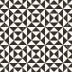 Black And White Abstract Geometric Quilt Pattern High Contrast Royalty Free Cliparts Vectors And Stock Illustration Image 98008622