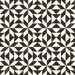 Black And White Abstract Geometric Quilt Pattern High Contrast Royalty Free Cliparts Vectors And Stock Illustration Image 98135245