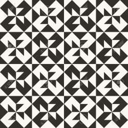 Black And White Abstract Geometric Quilt Pattern High Contrast Royalty Free Cliparts Vectors And Stock Illustration Image 99015838