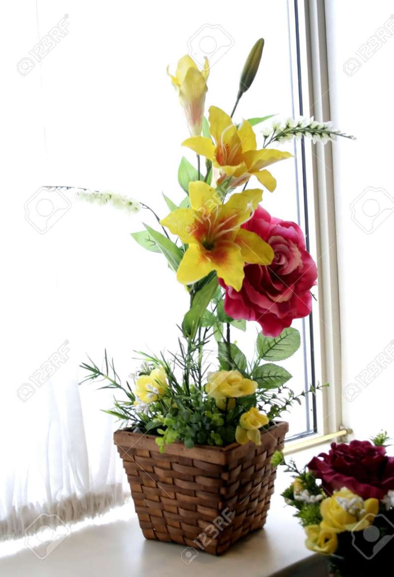 Image of beautiful flower vase higtwallaper beautiful flower vase in a window stock photo picture and royalty izmirmasajfo