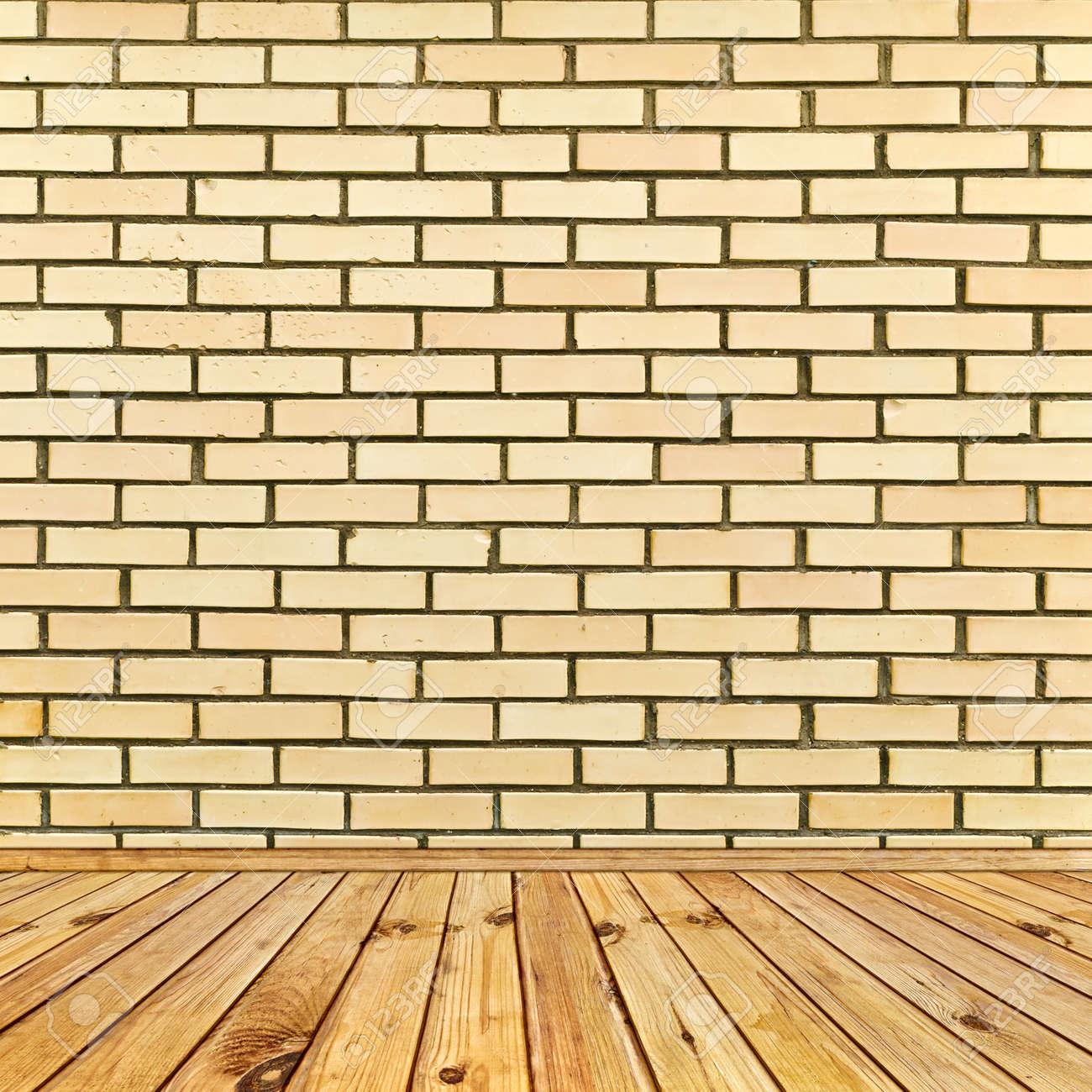 beige brick wall and