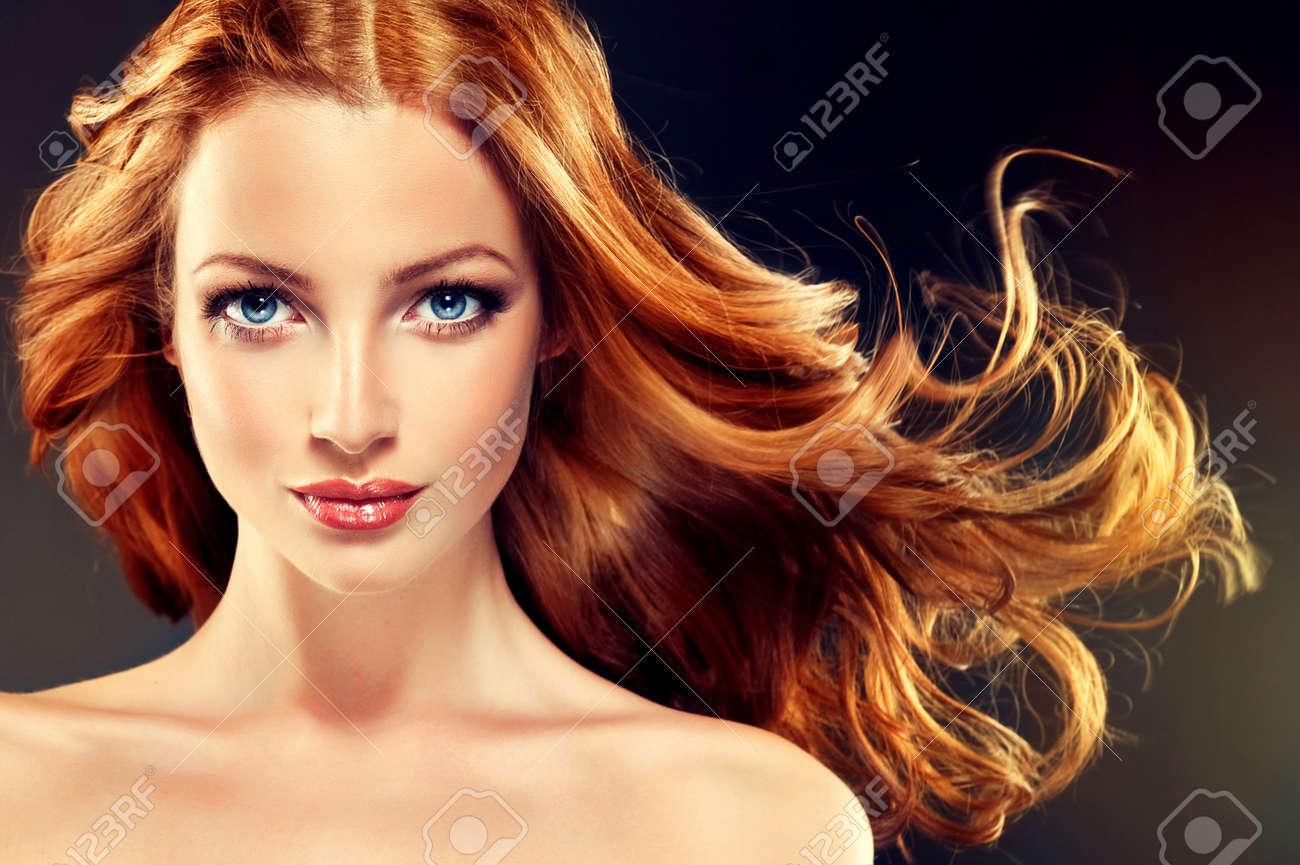 Frisuren Rote Haare Locken - Frisuren Schnell Gemacht: Frisuren