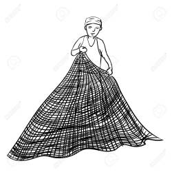 Net Clipart Black And White