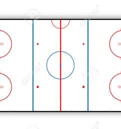 ice hockey rink stock vector 68034454 [ 1300 x 812 Pixel ]