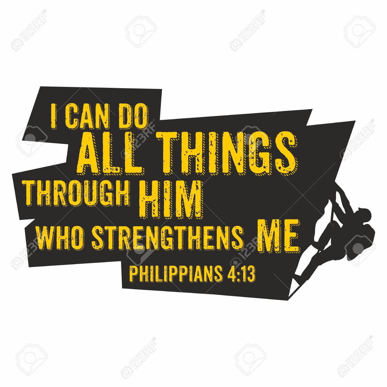 hight resolution of biblical illustration i can do all things through him who strengthens me philippians 4