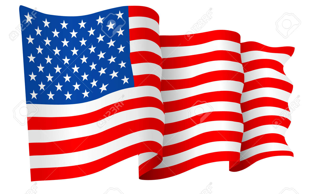 Usa American Flag Vector Royalty Free Cliparts Vectors And Stock Illustration Image 38790943