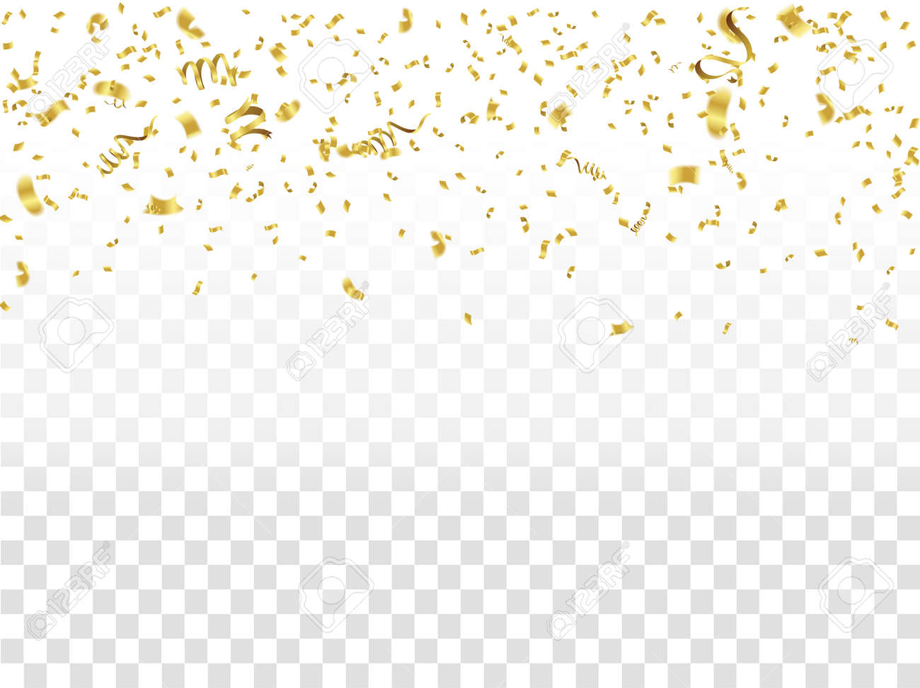 abstract background celebration gold