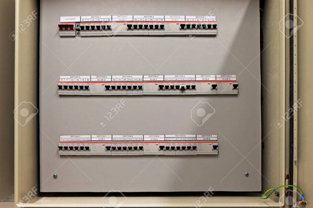medium resolution of fuse control panel box with a three rows of dedicated fuses