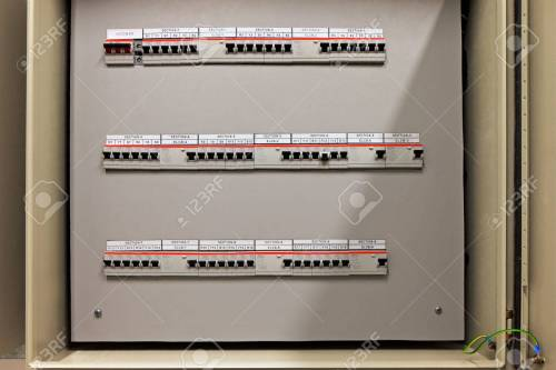 small resolution of fuse control panel box with a three rows of dedicated fuses