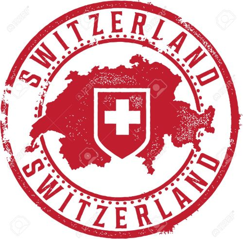 small resolution of switzerland country stamp