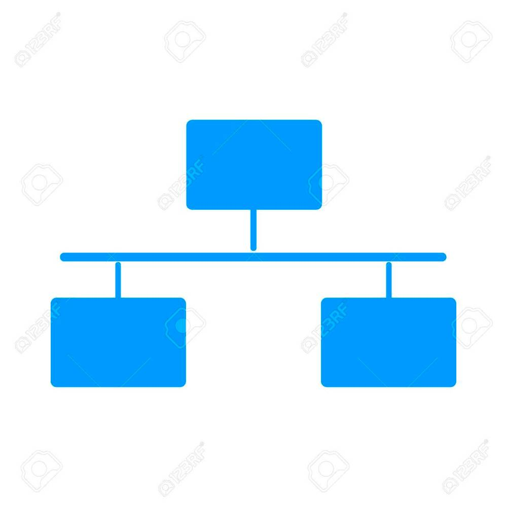 medium resolution of local area network icon flat design style modern vector illustration stock vector 50334140