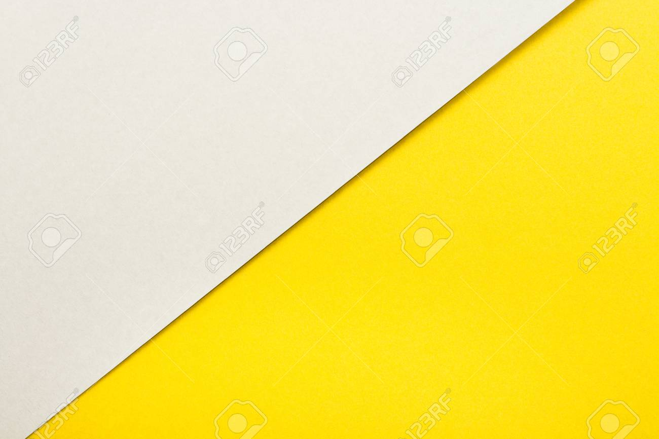 Bright And Yellow Color Paper Texture Background Trend Colors