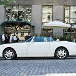 August 5 2012 Kiev Rolls Royce Phantom Drophead Coupe White Stock Photo Picture And Royalty Free Image Image 87372907