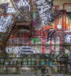 fuse box graffiti and a staircase on a wall stock photo 32029774 [ 1300 x 659 Pixel ]