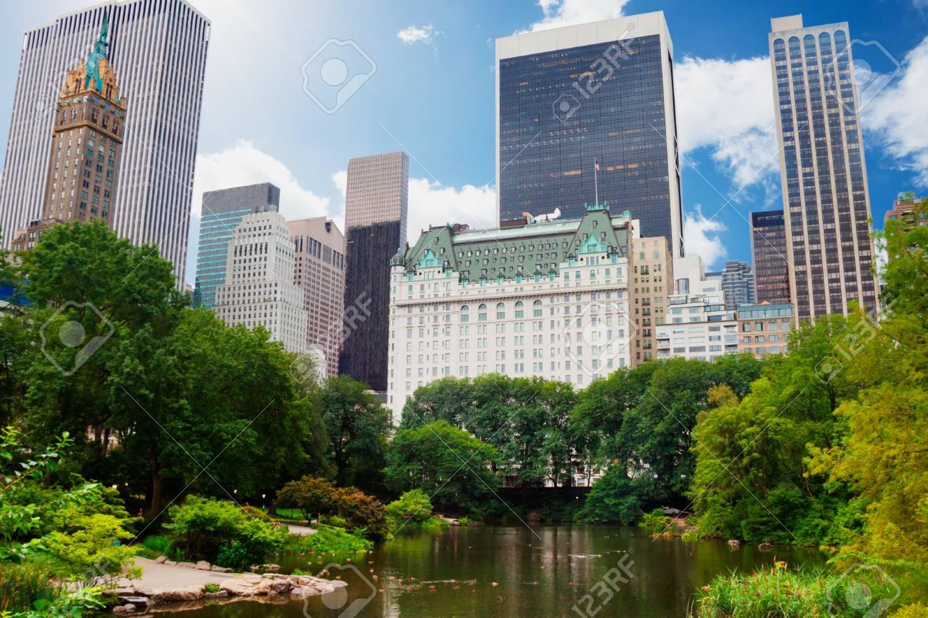 Central Park New York City Near The Plaza Hotel