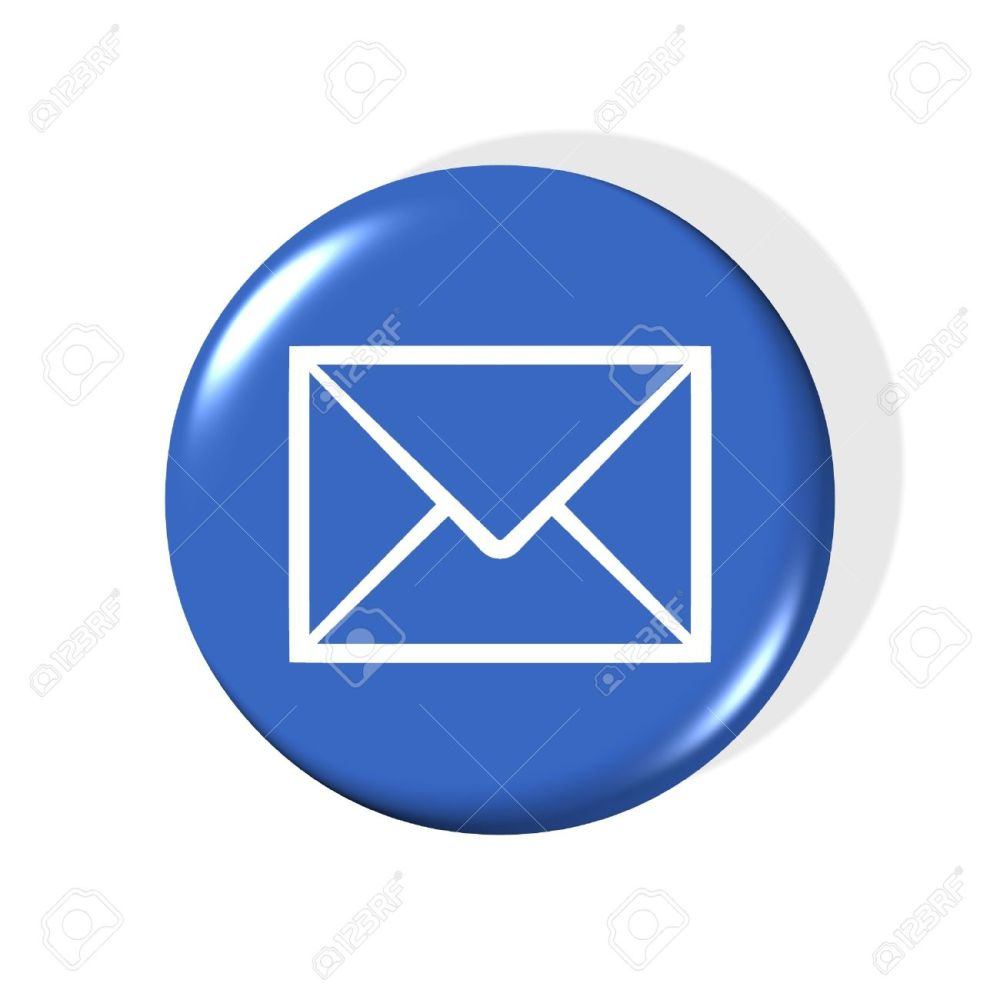 medium resolution of 3d email symbol computer generated clipart stock photo 859860