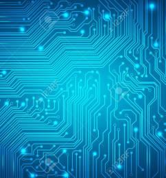 circuit board blue [ 1300 x 919 Pixel ]