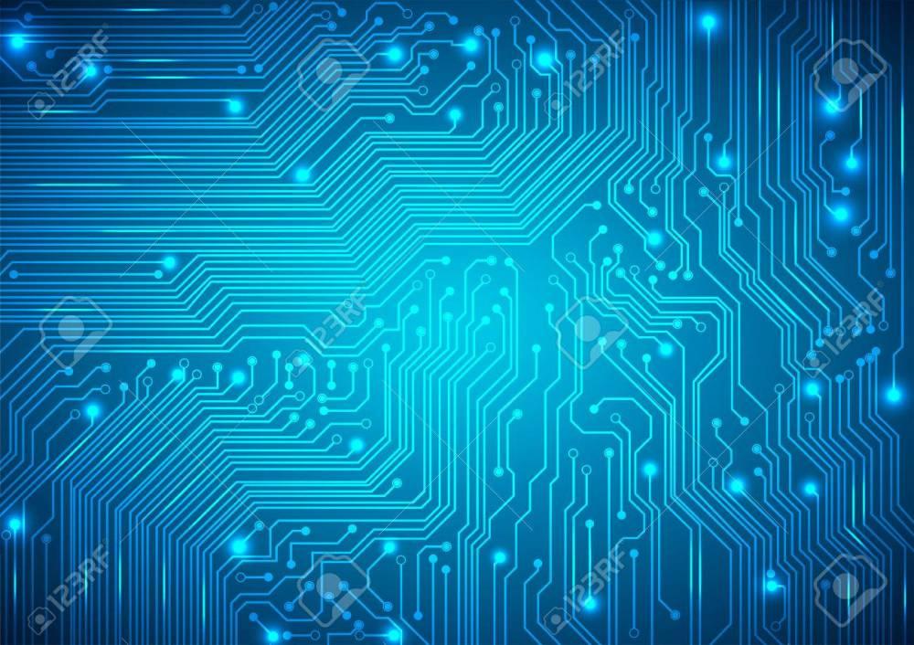medium resolution of circuit board blue