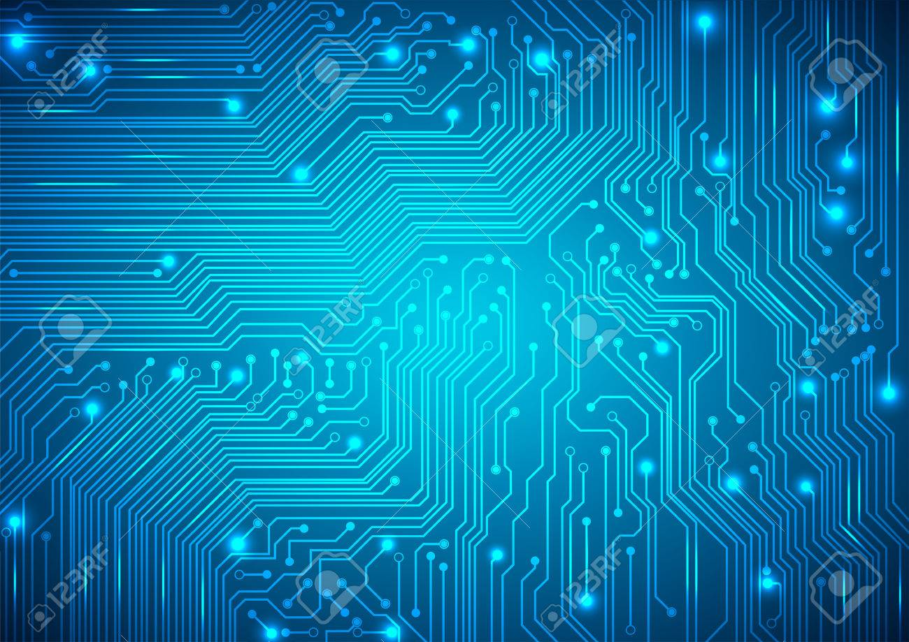 hight resolution of circuit board blue