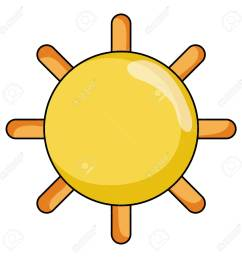 shine sun ray and summer weather vector illustration stock vector 99369703 [ 1300 x 1300 Pixel ]